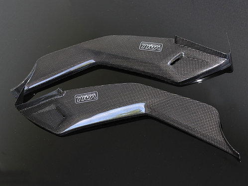 Honda Grom OG (2013-2015) Carbon Under-Tank Covers (Glue-On Type)