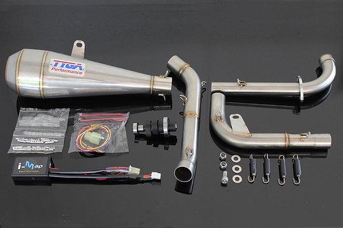 Honda Grom OG TYGA/KITACO Power Up Kit, Maggot Type