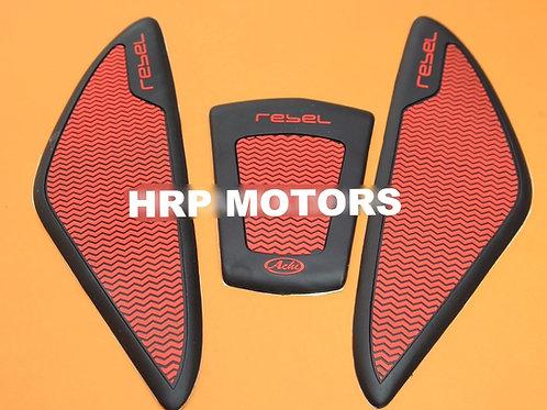 Honda Rebel grip tank pads.