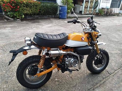 Honda Monkey 125 AR exhaust - Upper mount