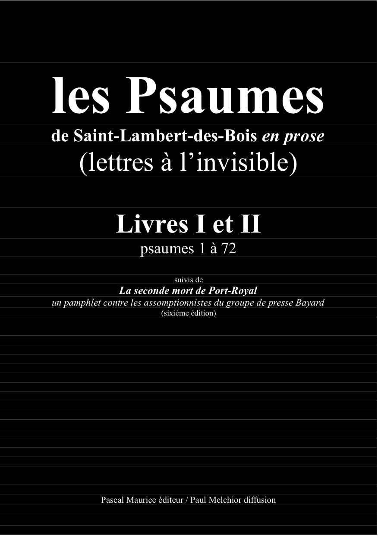 1.Psaumes I ET II