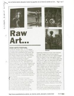 2004, LONDON RAW ART, 06