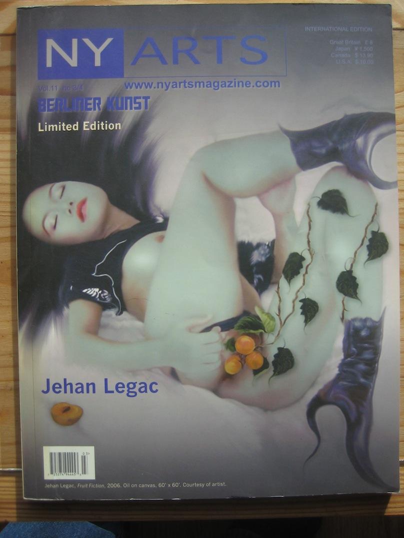1.NEW-YORK ARTS MAGAZINE (mars-avril 2006)