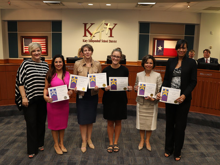 Katy ISD Communications, Public Relations Team Wins Big at State Awards