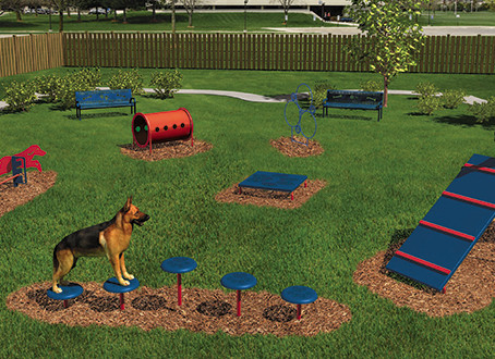New Canine Agility Course Now Open at Katy Dog Park