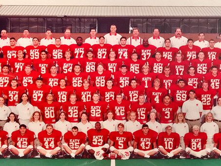 Katy ISD Athletic Hall Of Honor Inductees, Game Details, and Photos