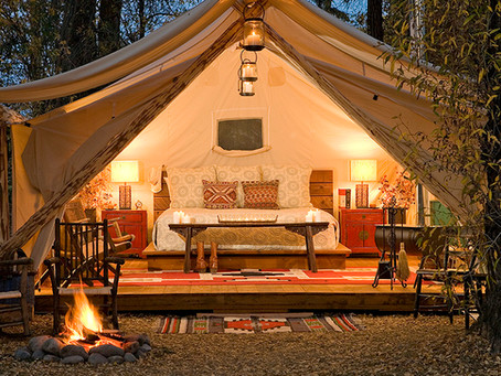 """The Best Places in Texas for """"Glamping"""""""