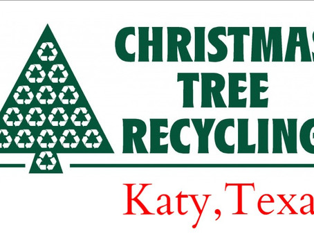 Recycle Your Christmas Tree and Old Lights in Katy and Houston