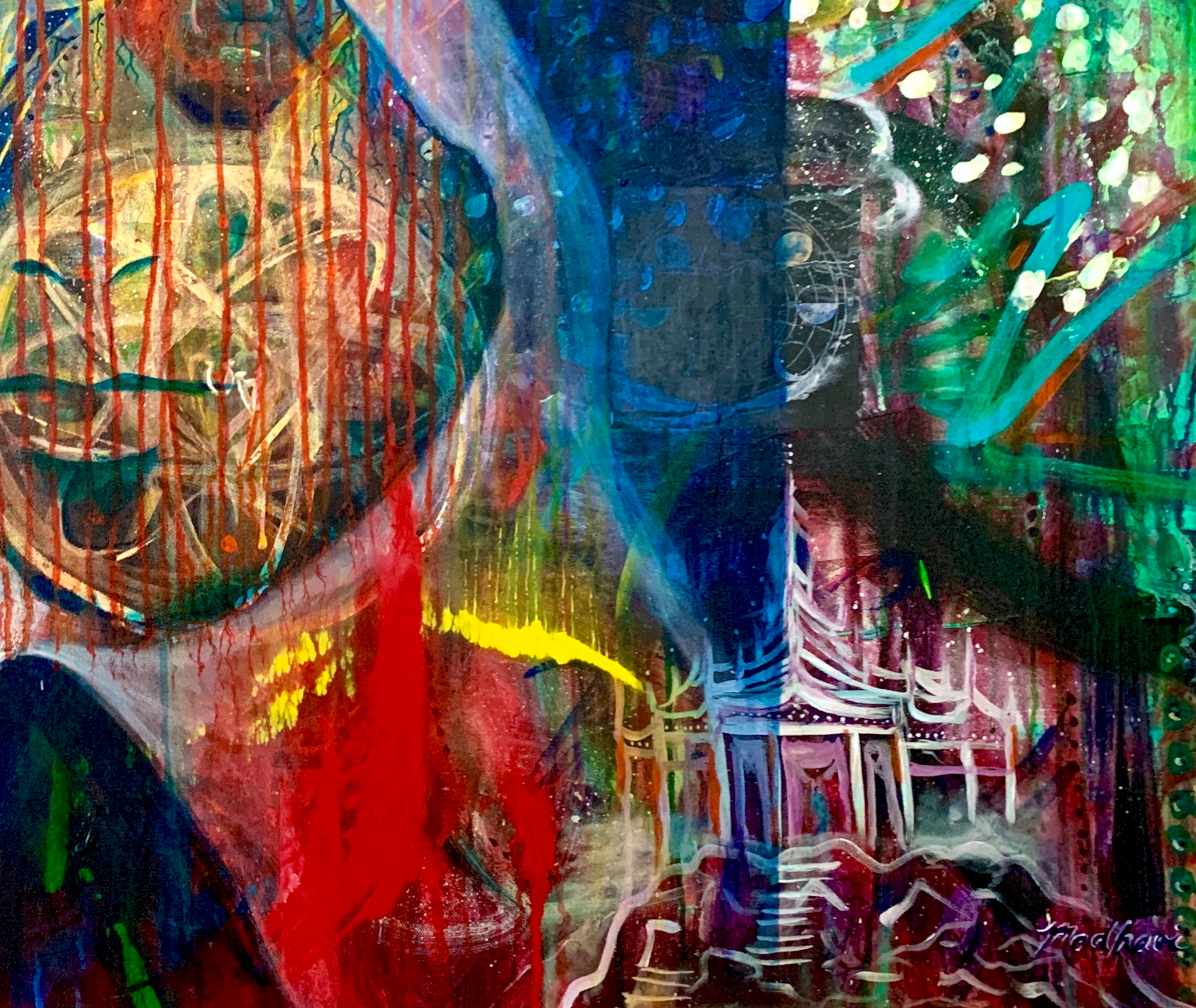 """Imagine #5"" (detail lower right) R)"