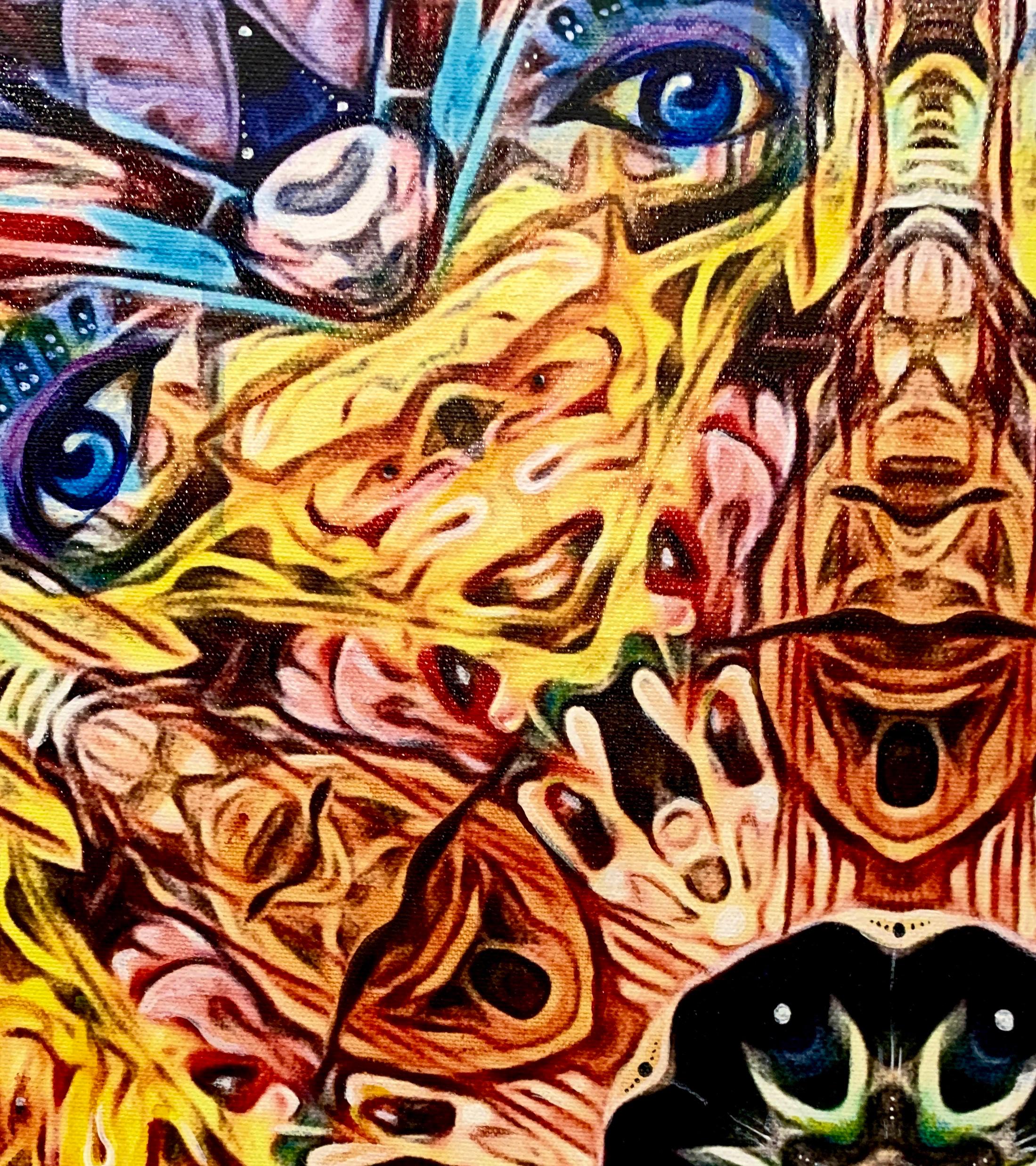 """Medicine Mandala"" detail"