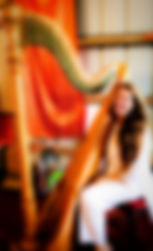 Madhavi plays Concert Grand harp.