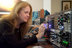Madhavi at modular synths