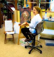 Cheryl Gallagher teaches.JPG