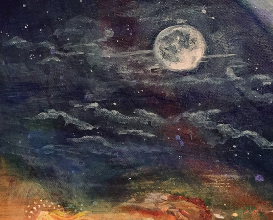 Full moon detail - Legend series