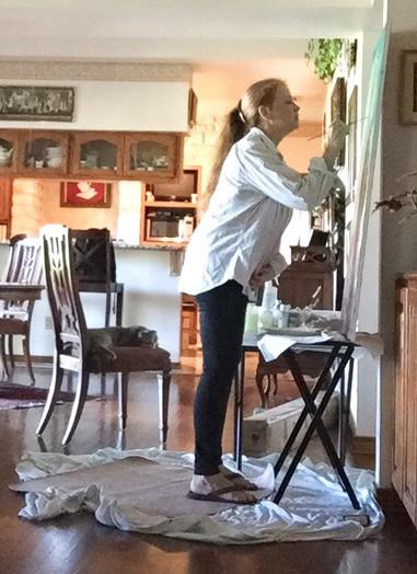 Madhavi paints