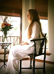 Madhavi Devi meditates