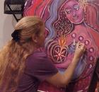 Madhavi paints Soulfire