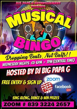 wednesday Disco Bingo - Made with Poster