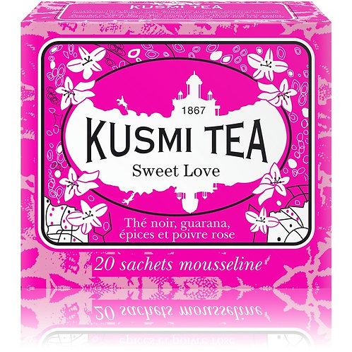 KUSMI TEA SWEET LOVE TEEBEUTEL