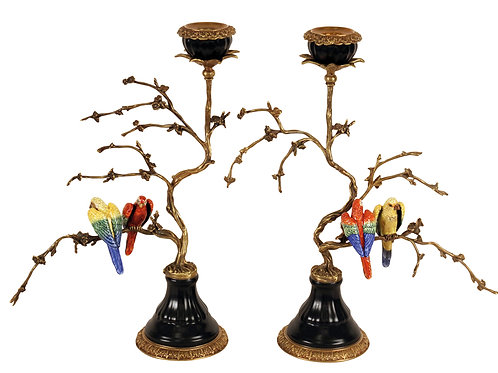 PARROT CANDLESTAND