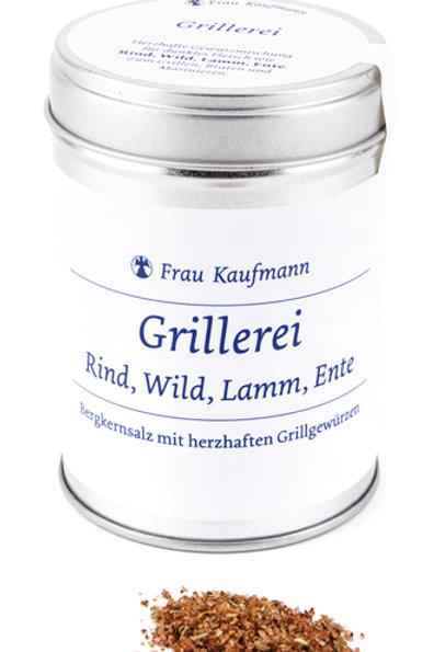 GRILLEREI II – FRAU KAUFMANN