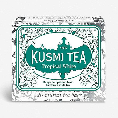 KUSMI TEA TROPICAL WHITE TEEBEUTEL