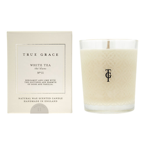 TRUE GRACE SCENTED CANDLE WHITE TEA
