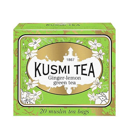 KUSMI TEA GINGER-LEMON GREEN TEEBEUTEL