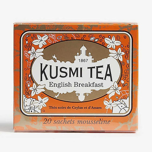 KUSMI TEA ENGLISH BREAKFAST TEEBEUTEL