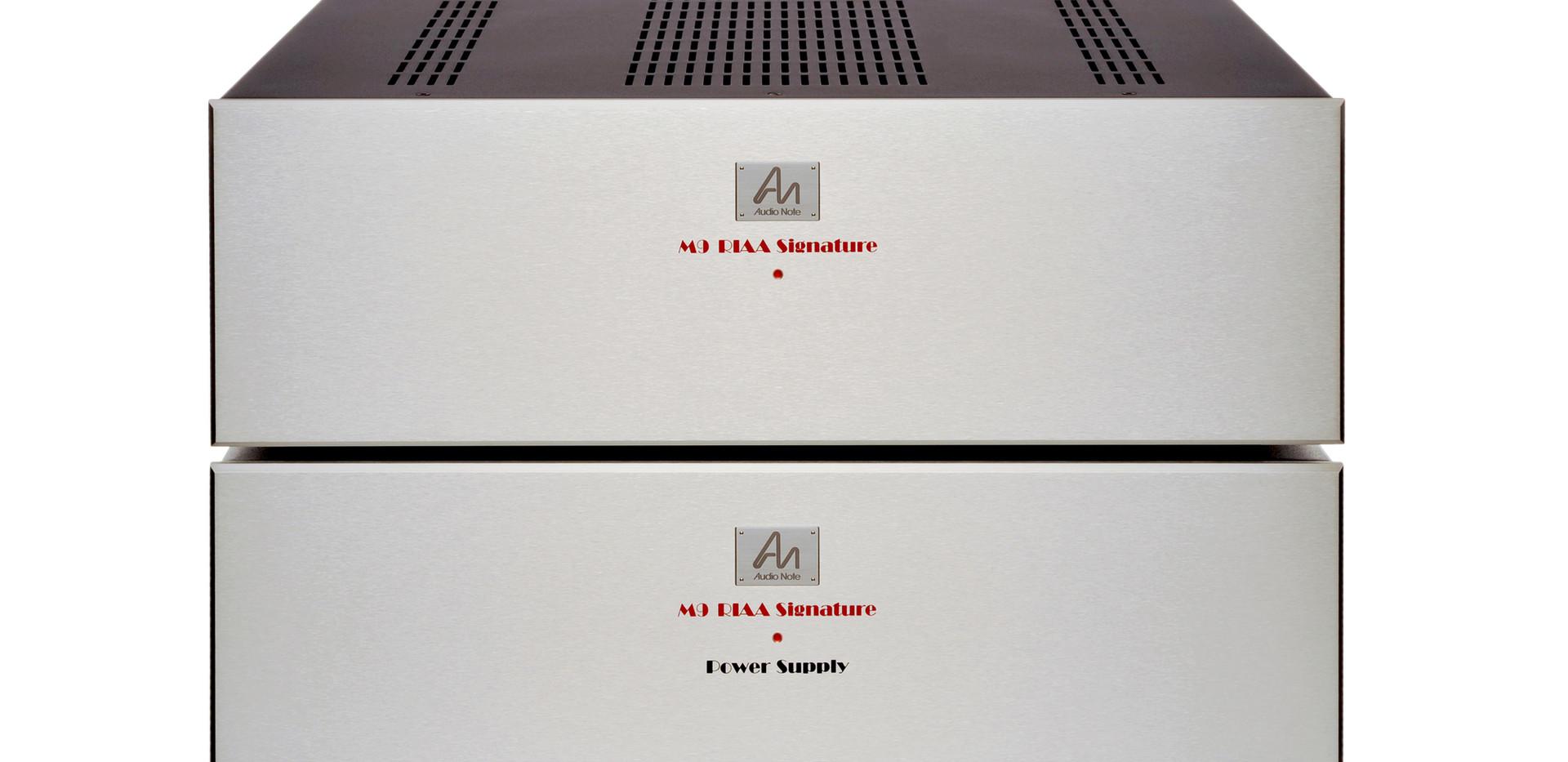 M9 RIAA Signature stack front top 1 edit