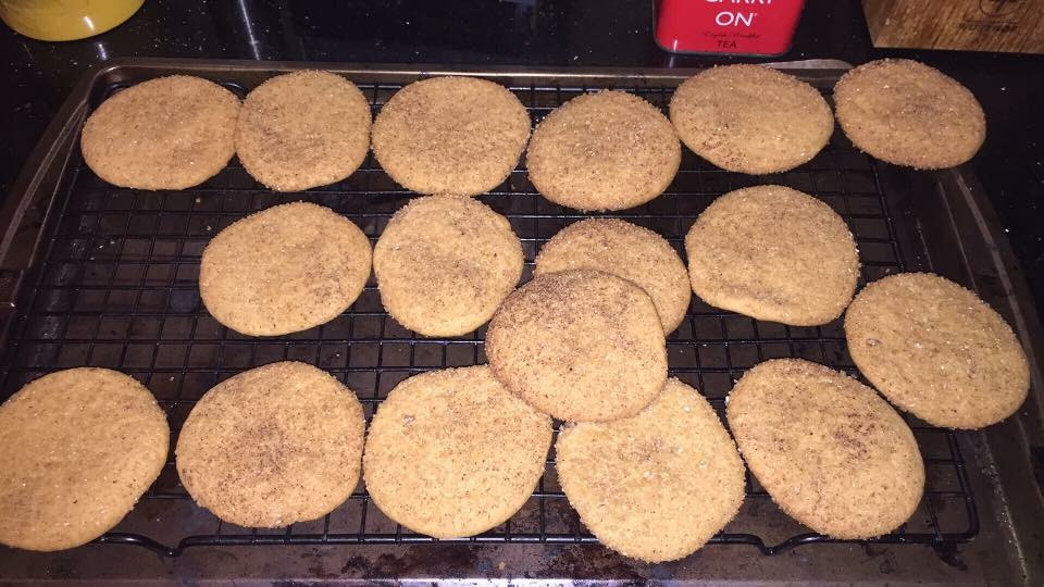 Chai Spice Snickerdoodle Cookies