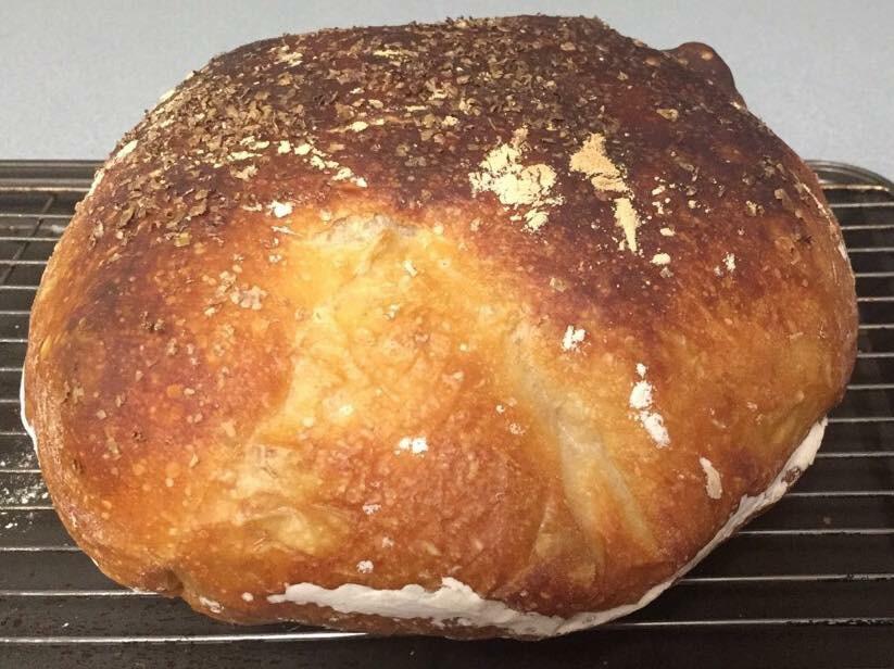 No-Knead Bread Boule
