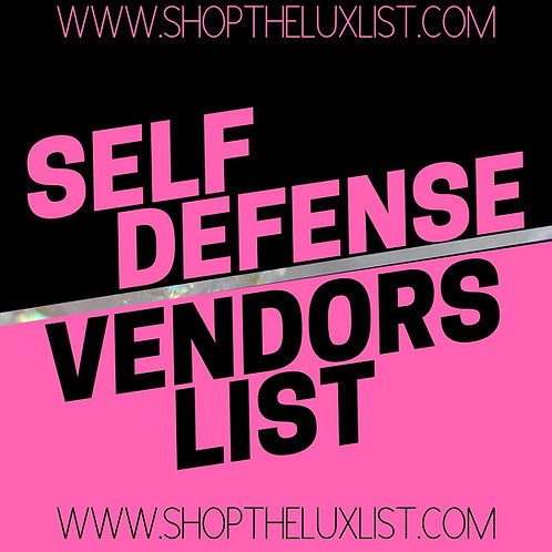 Self Defense Supplies