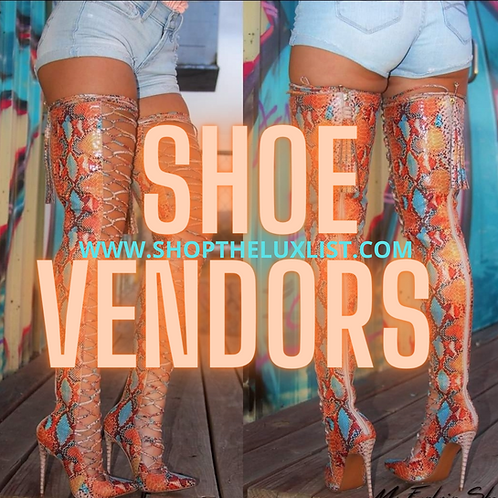 Shoe Vendors