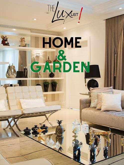 Home & Garden Vendors List