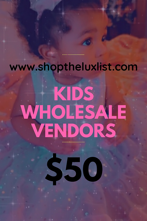Children's Clothing Vendors