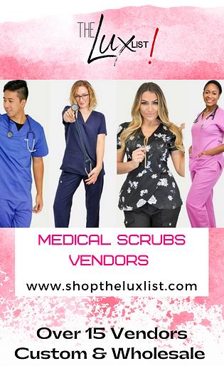 Medical Scrubs Vendors