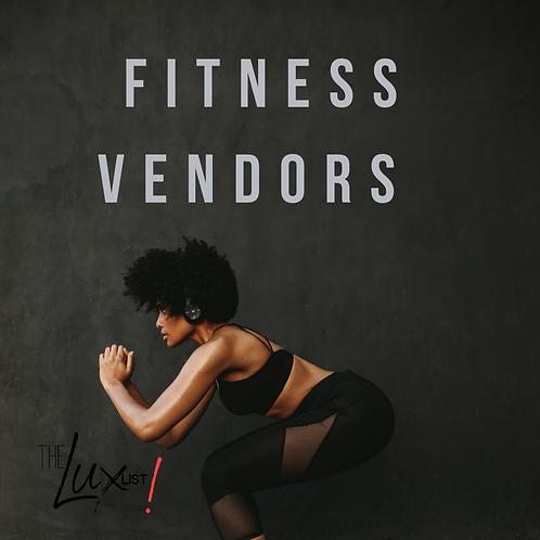 Fitness Vendors