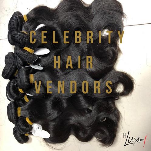 Celebrity Hair Vendors