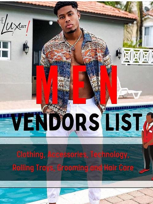 Mens Custom Clothing & Accessories