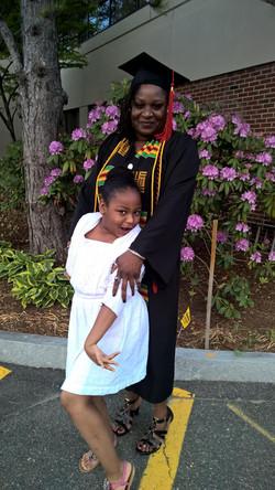 College Graudate & Daughter