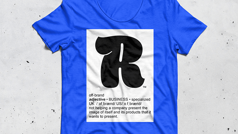 "OFFBRAND ""R-Shirt"""