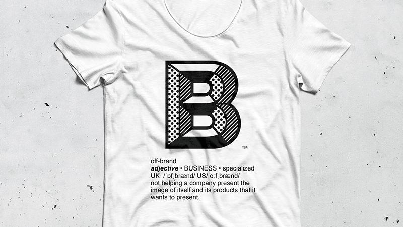 "OFFBRAND ""B-Shirt"""