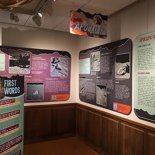 Apollo 17 West Gallery panels