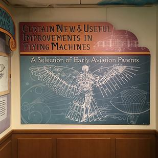 Aviation Alcove title panel
