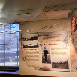 Aviation West Gallery panels and details