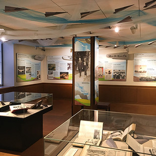Aviation East Gallery panels and details