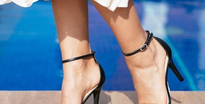 Sandália Silicone Preta