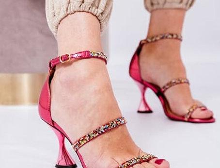 Sandália Hot Pink LB
