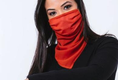 Máscara Lenço Terracota